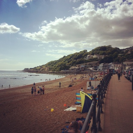 View of Ventnor from The Mill Bay