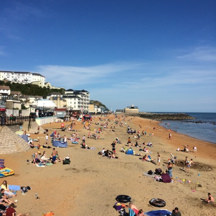 Main beach at Ventnor