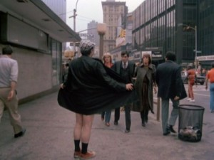 Cagney & Lacey opening credits - the 'flasher'