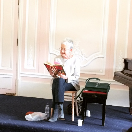 Dame Jacqueline reading from Four Children and It