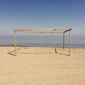 The beach at Ras Abu Galum.
