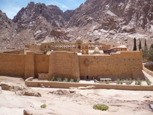St Catherine's - the oldest monastery in the world.