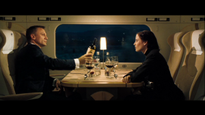 Vesper Lynd grills Bond in Casino Royale
