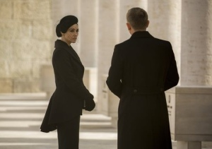 Bellucci as Lucia Sciarra in Spectre